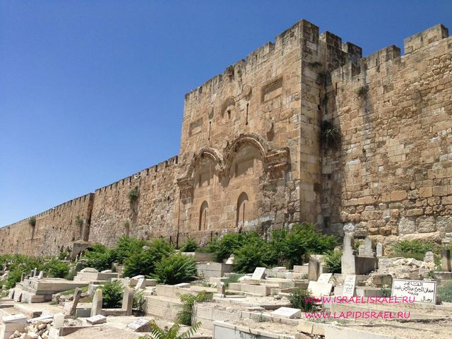 золотые ворота иерусалима история