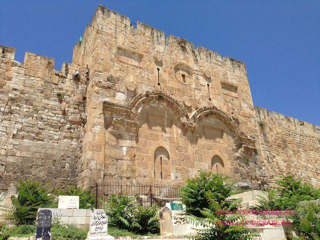 золотые ворота иерусалима фото