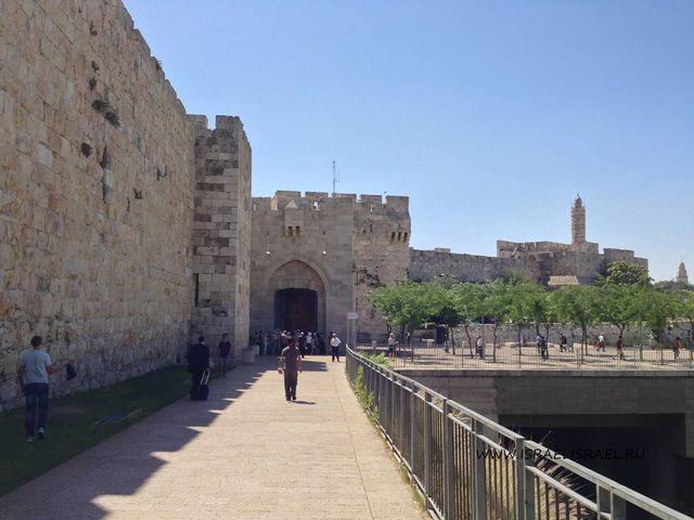 как пройти через Яффские ворота