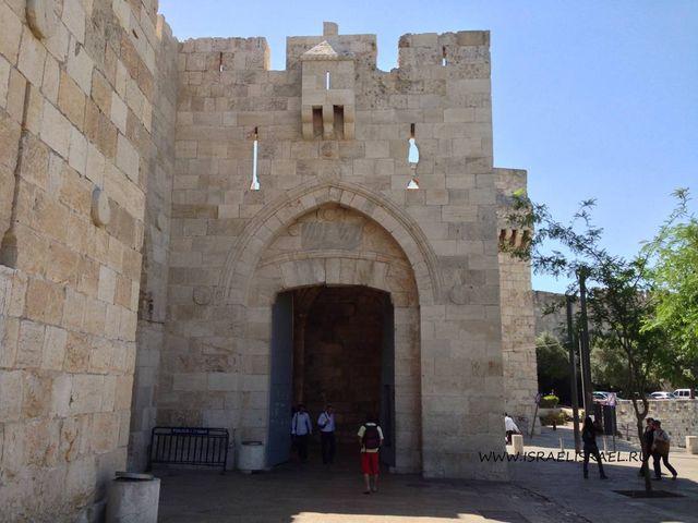 ворота иерусалима карта