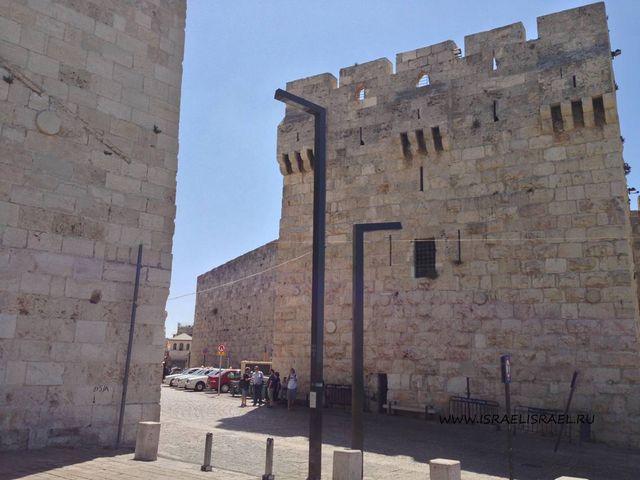 через какие ворота вошел иисус в иерусалим