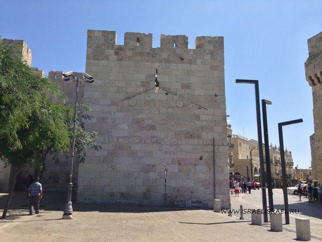 дамасские ворота иерусалима