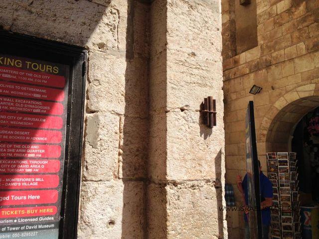 яффские ворота в иерусалиме фото