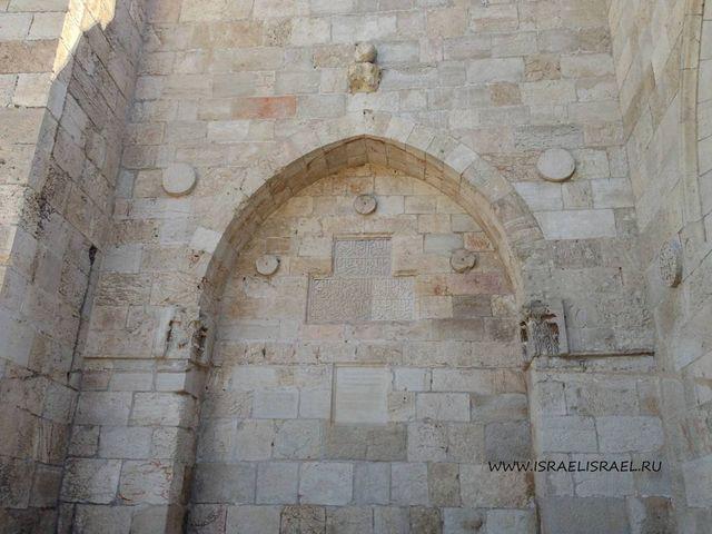 Кто постороил яфские ворота