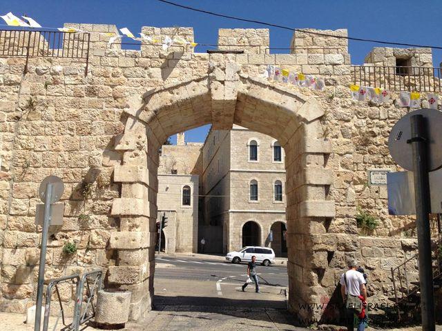 Ворота християнского квартала Иерусалима