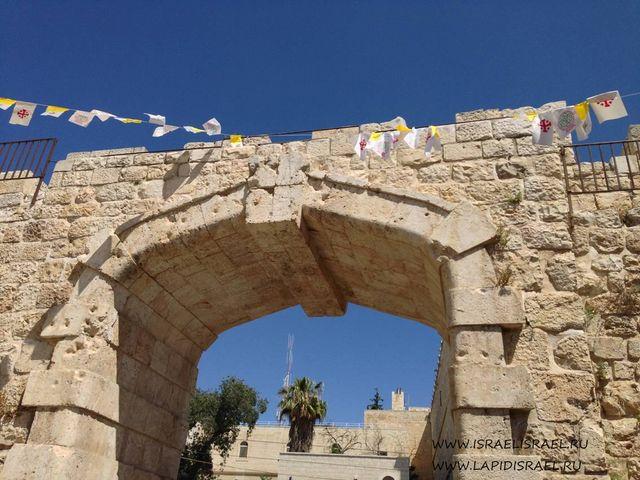 Русское подворье в Иерусалиме Новые ворота