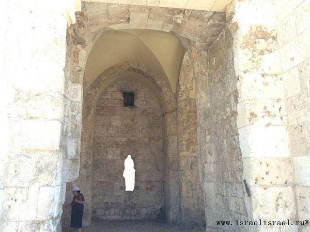 Сионские ворота Изображение Старый город