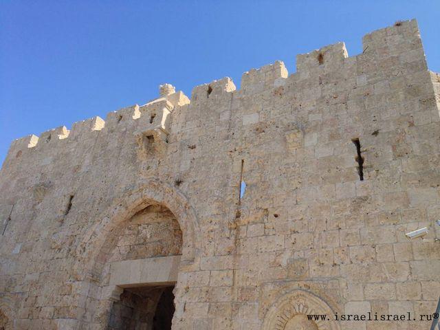 Ворота Сион Иерусалим