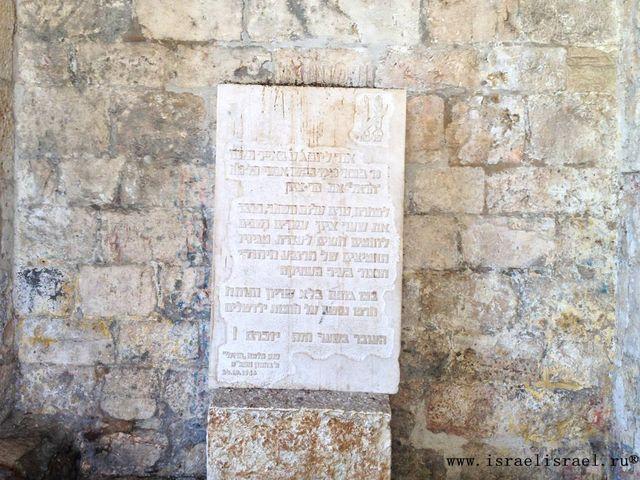 Линия фронта Сионские ворота