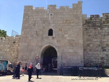 Цветочные ворота Иерусалим