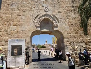 Мусорные ворота Иерусалим