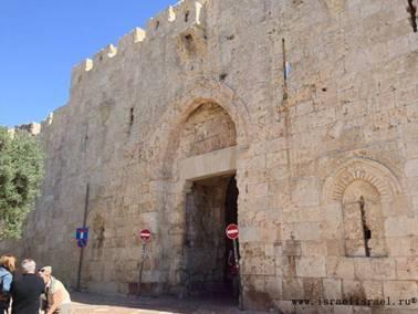 Сионские ворота Иерусалим