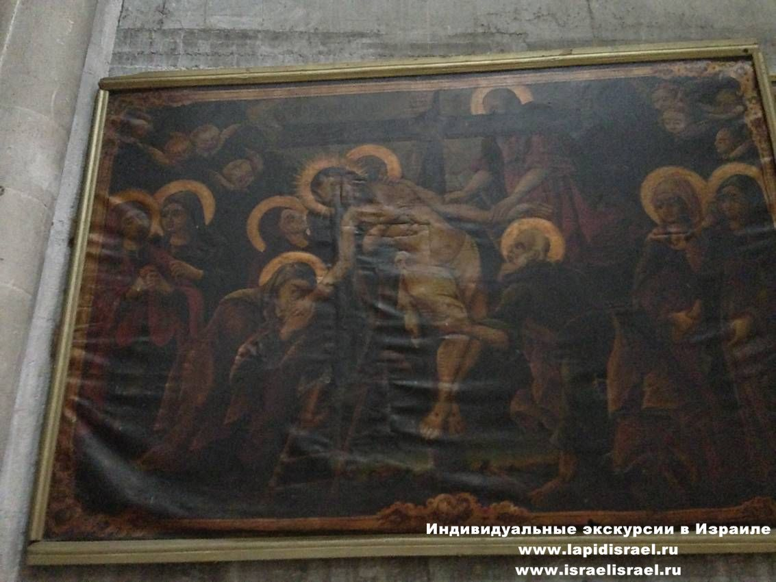 Икона божьей матери в храме гроба господня