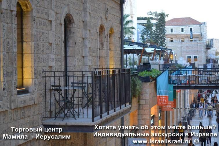 Расположение Мамила Иерусалим