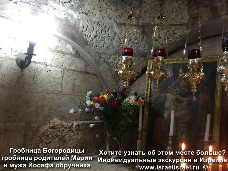 Tomb of Mary jerusalem