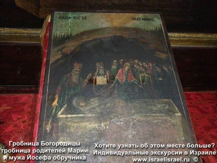 гробница пресвятой богородицы в иерусалиме