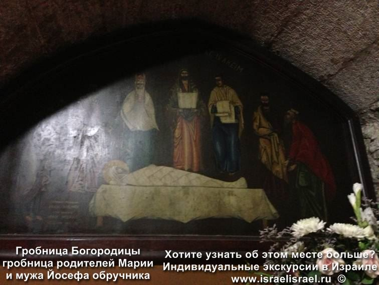 гробница богородицы гефсимании