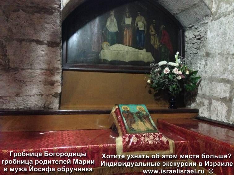 гробница богородицы иерусалим