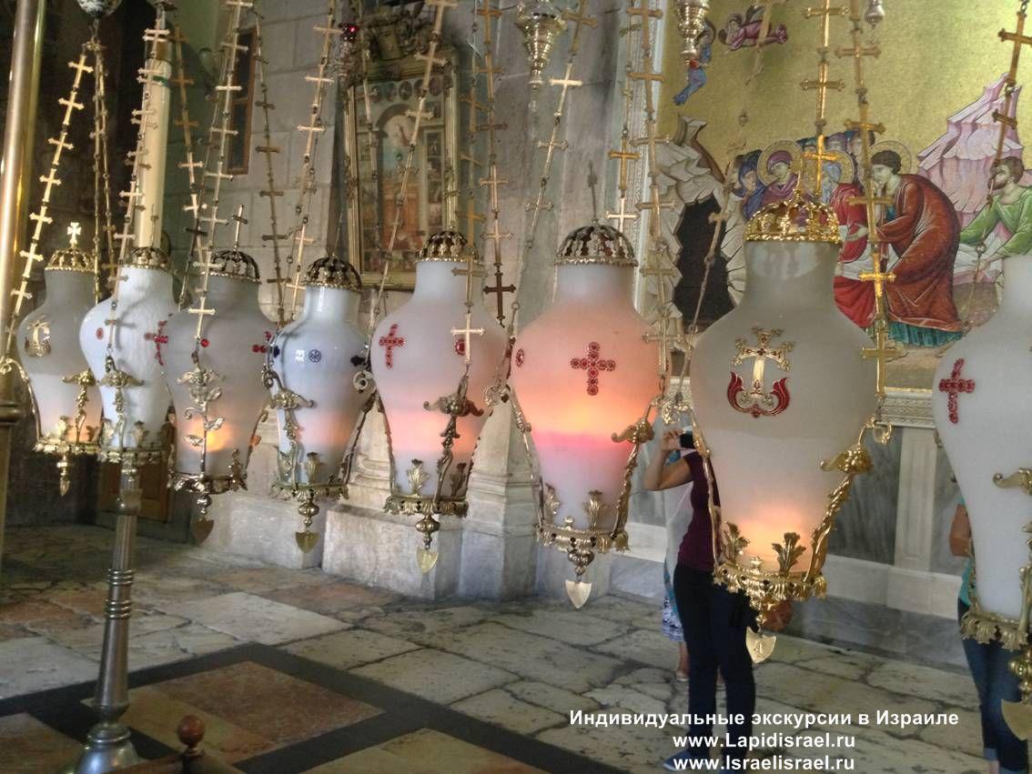 Камень Миропомазания в храме Гроба Господня. Камень Помазания Иерусалим. Индивидуальные экскурсии в Израиле