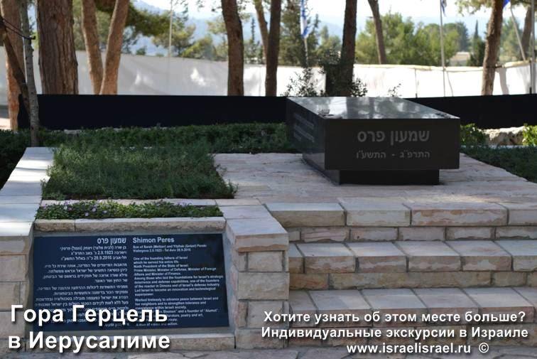 Binyamin Zeev Herzl Grave in Jerusalem