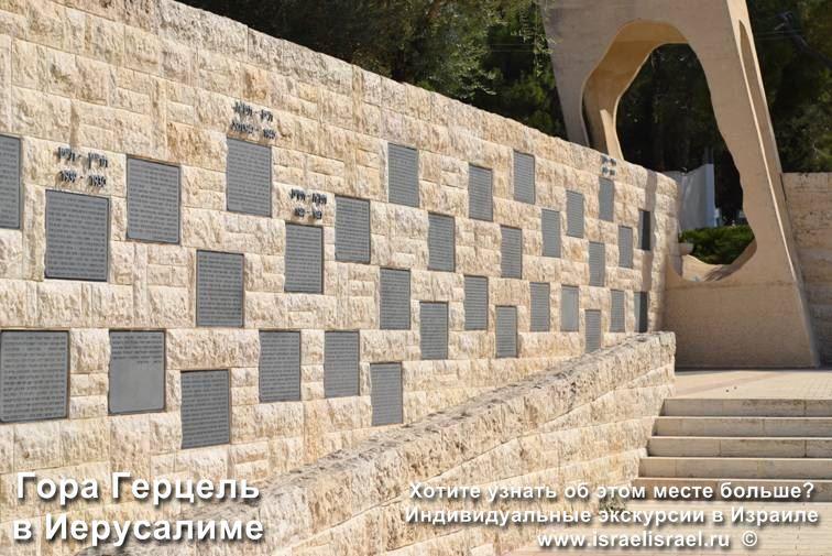 Israel Jerusalem Mount Herzl Tomb