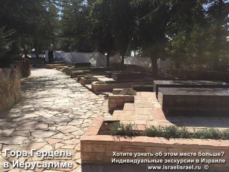 Mount Herzl, Jabotinsky