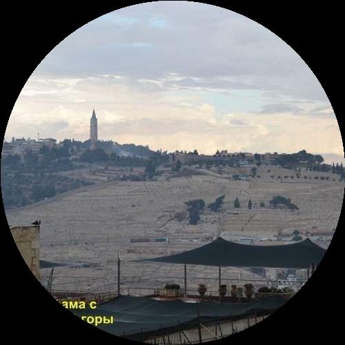 Библейские места на Масличной горе или гора Елеон