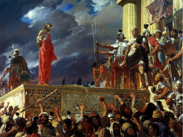 Суд Иисуса с Пилатом