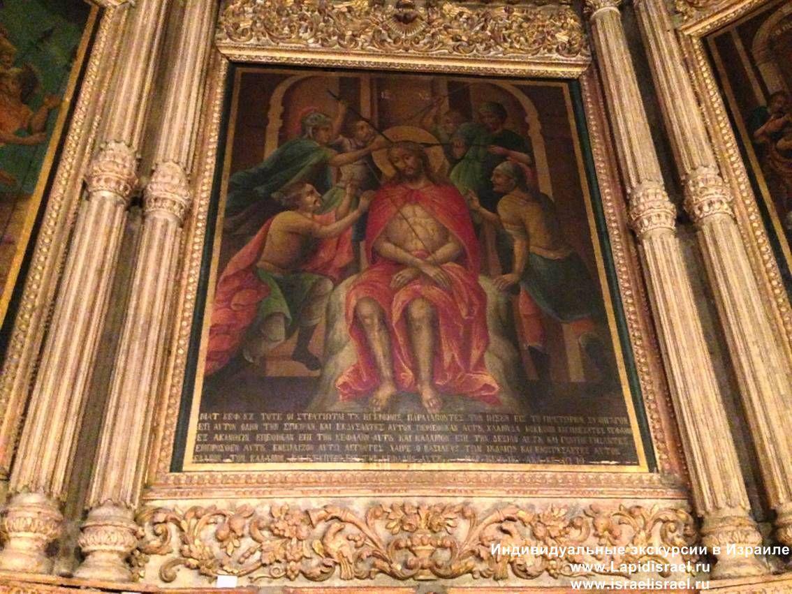 Колонна бичевания Иисуа в Иерусалиме
