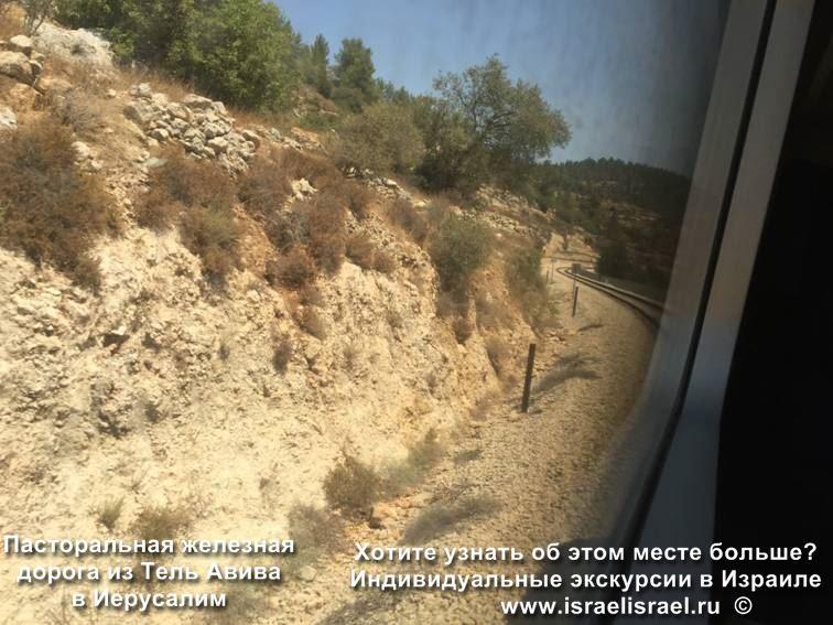 Река Сорек Иерусалим