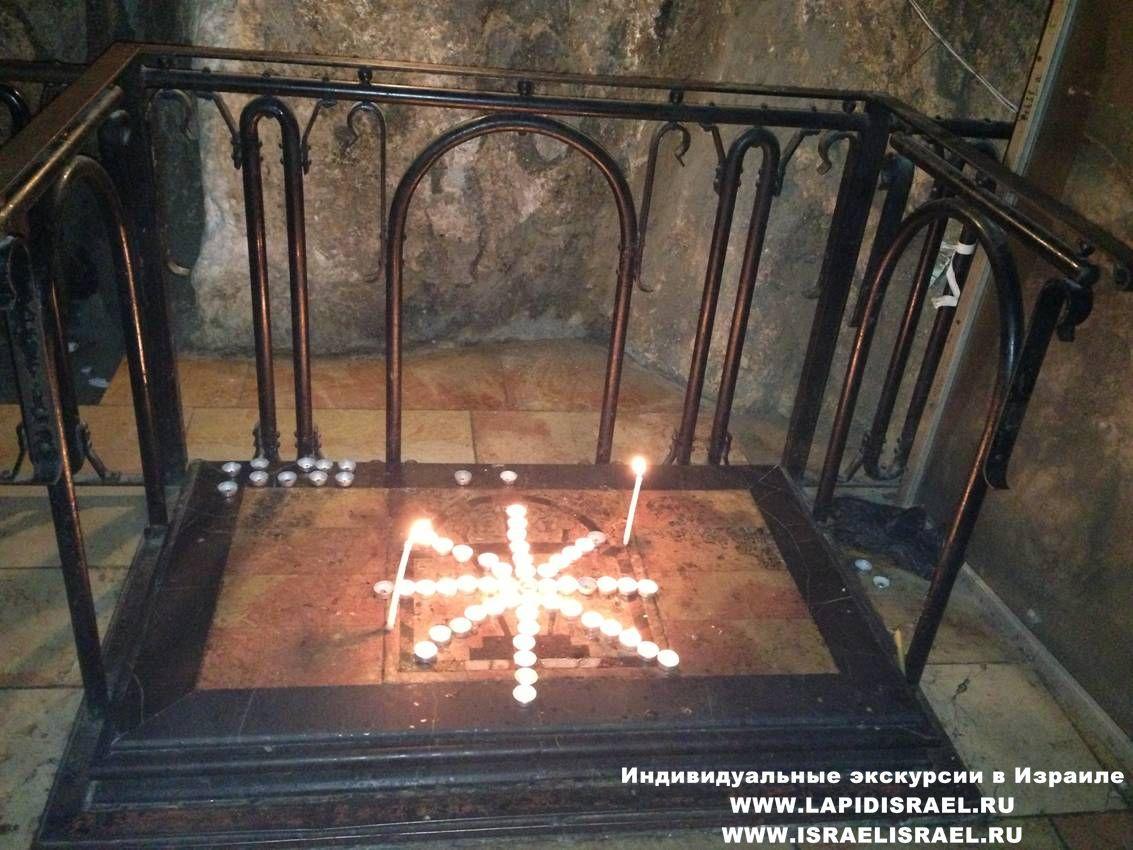 Обретение креста гроб господня