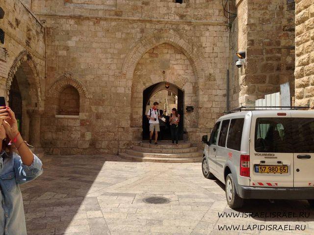 Расположение гробницы царя Давида