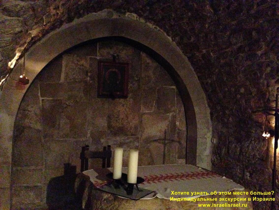 Крёстный путь в Иерусалиме Шестая остановка Виа Долороса Дом Вероники индивидуальные экскурсии в Израиле