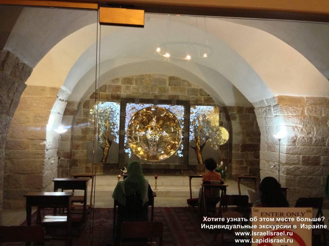 Индивидуальные экскурсии в Израиле Четвёртая остановка крёстного пути Виа Долороса в Иерусалиме