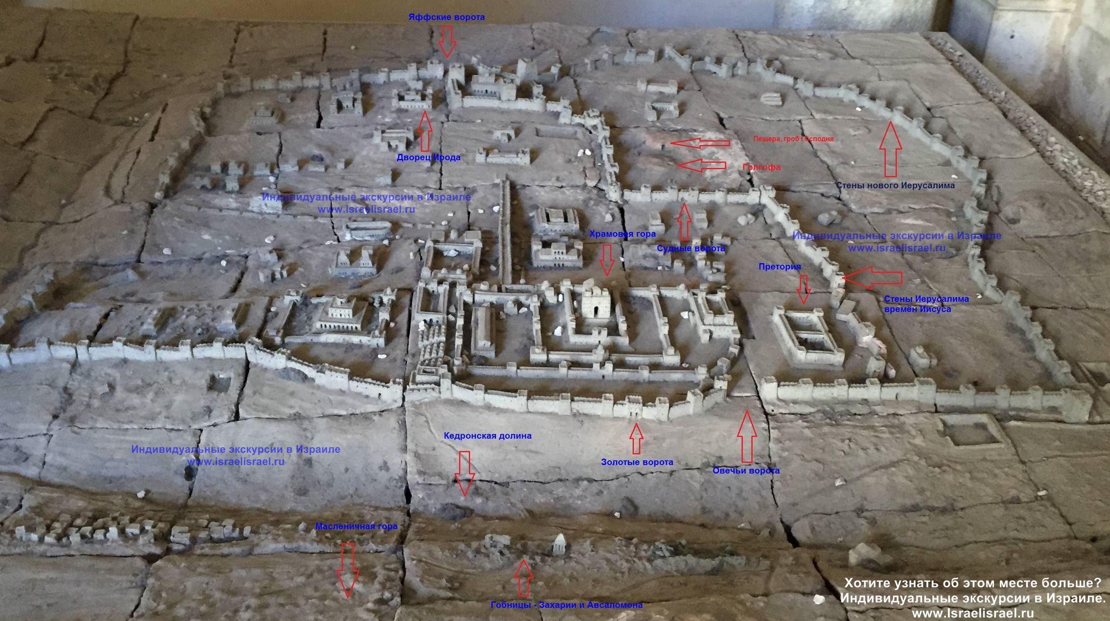 Jerusalem biblical place second stop