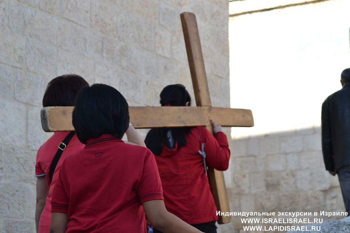 Крестный Путь улица Виа Долороса Иерусалим Индивидуальные экскурсии в Израиле