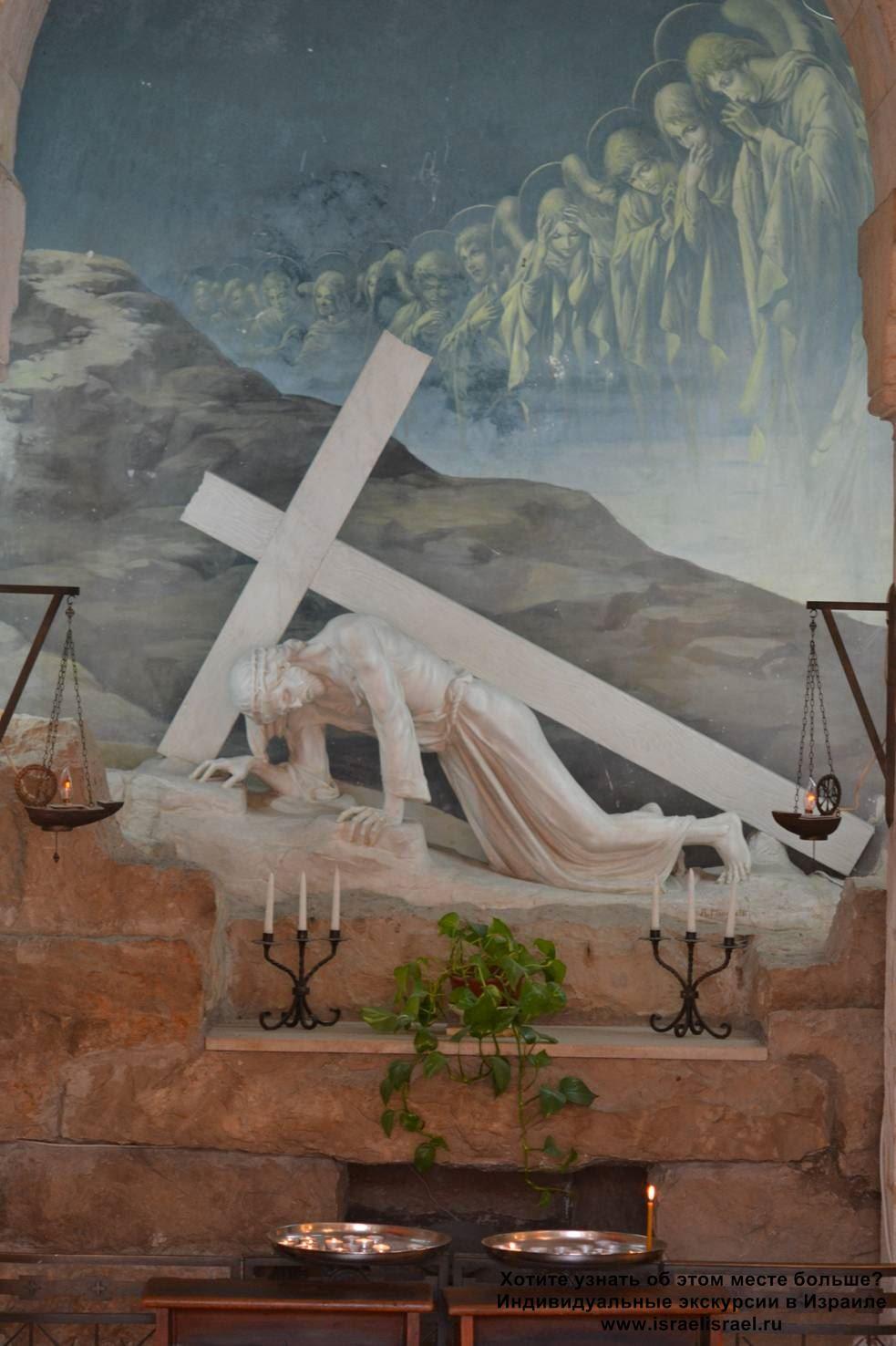 Церковь Виа долорса 3 остановка
