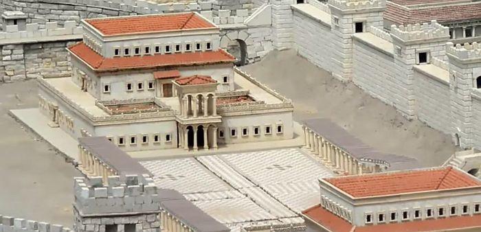 Яффские ворота Иерусалим дворец Ирода