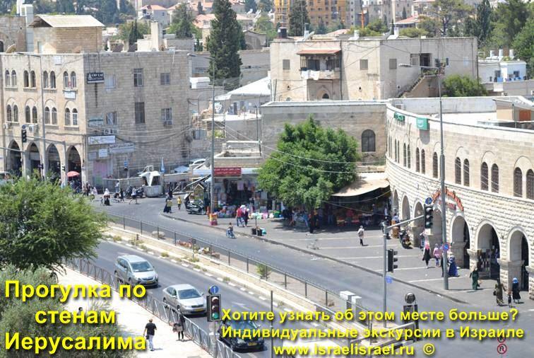 стены иерусалима веб камера