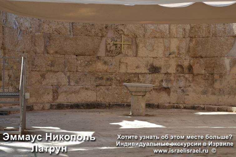 Emmaus Nikopol Biblical place in Latrun