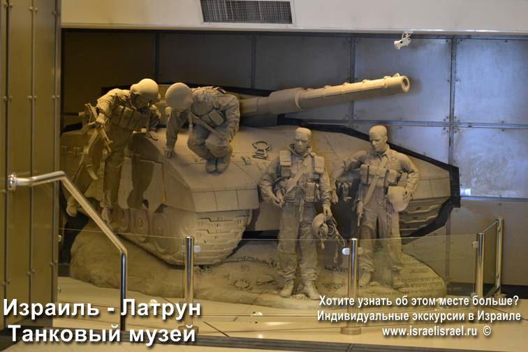 Поход в танковый музей Израиля