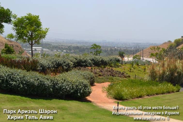 Ариель Шарон парк орхидей в израиле