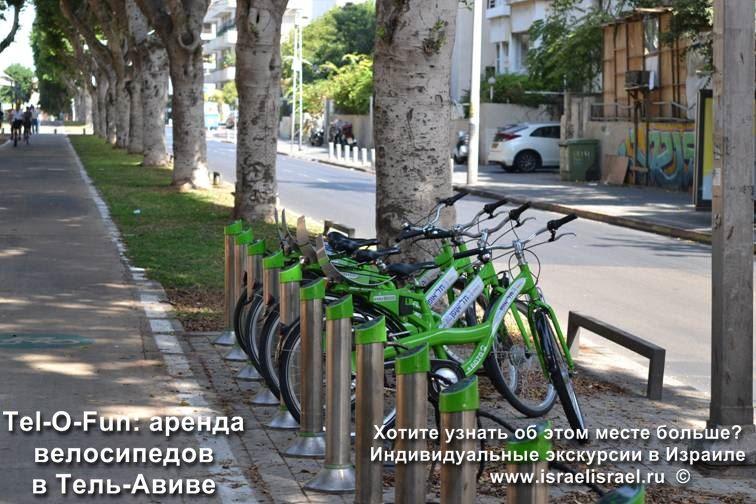 Аренда велосипедов в Тель Авиве