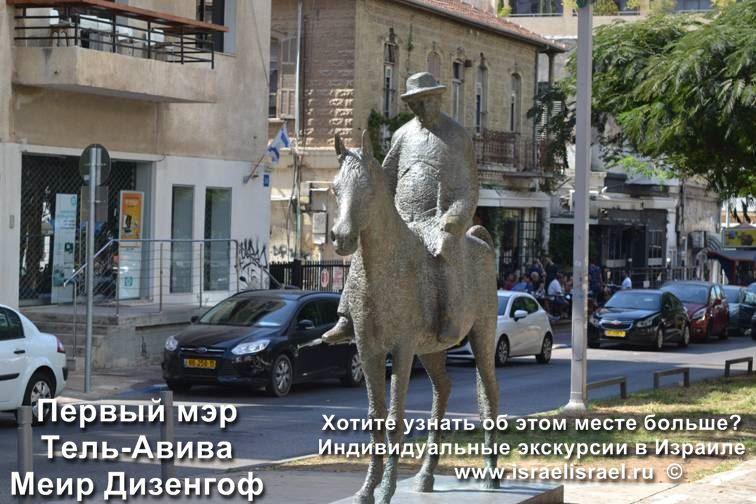 Мэр города Тель Авив Мэир Дизингоф