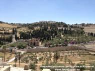 Панорама от Золотых ворот на Масленичную гору
