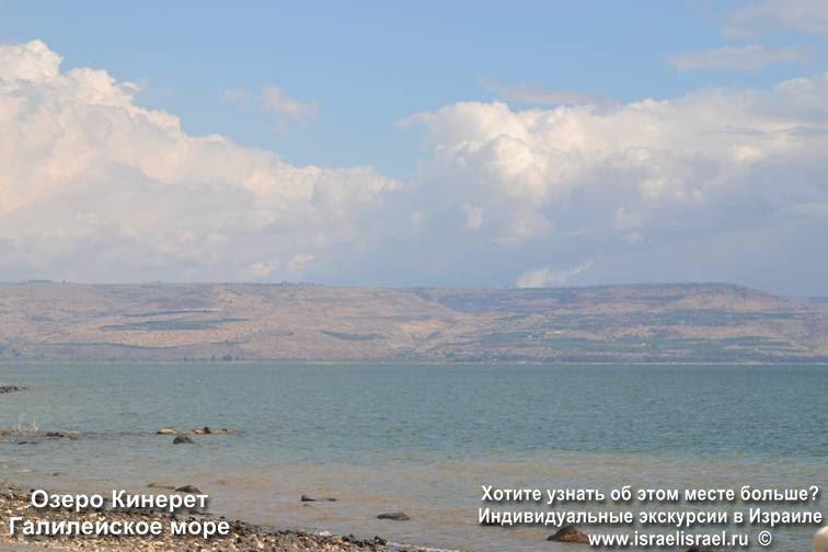 Иисус Галилейское море