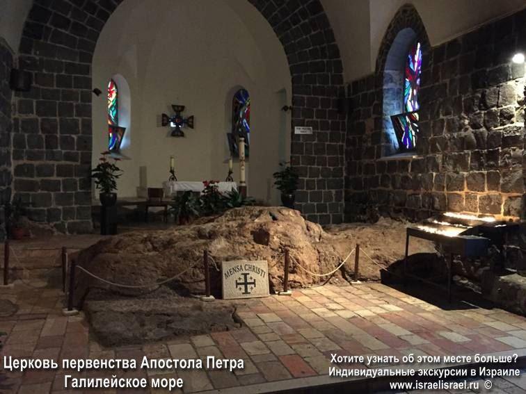 Путеводитель Церковь первенства Петра в Табхе
