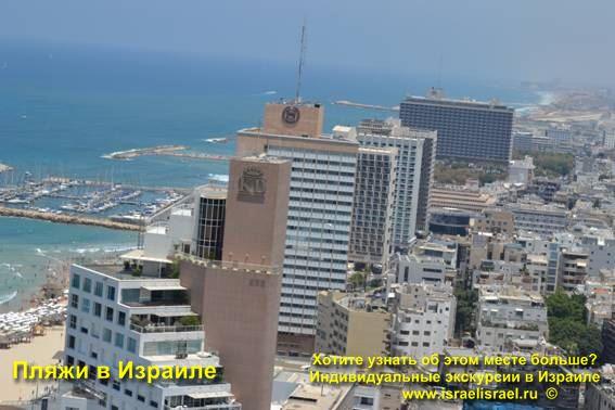 Где пляжи в Тель авиве