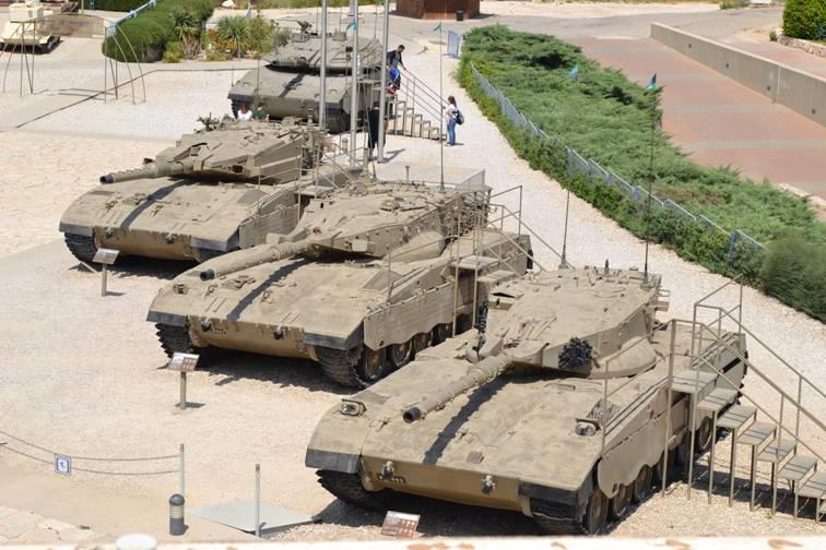 Экскурсия танковый музей в Израиле
