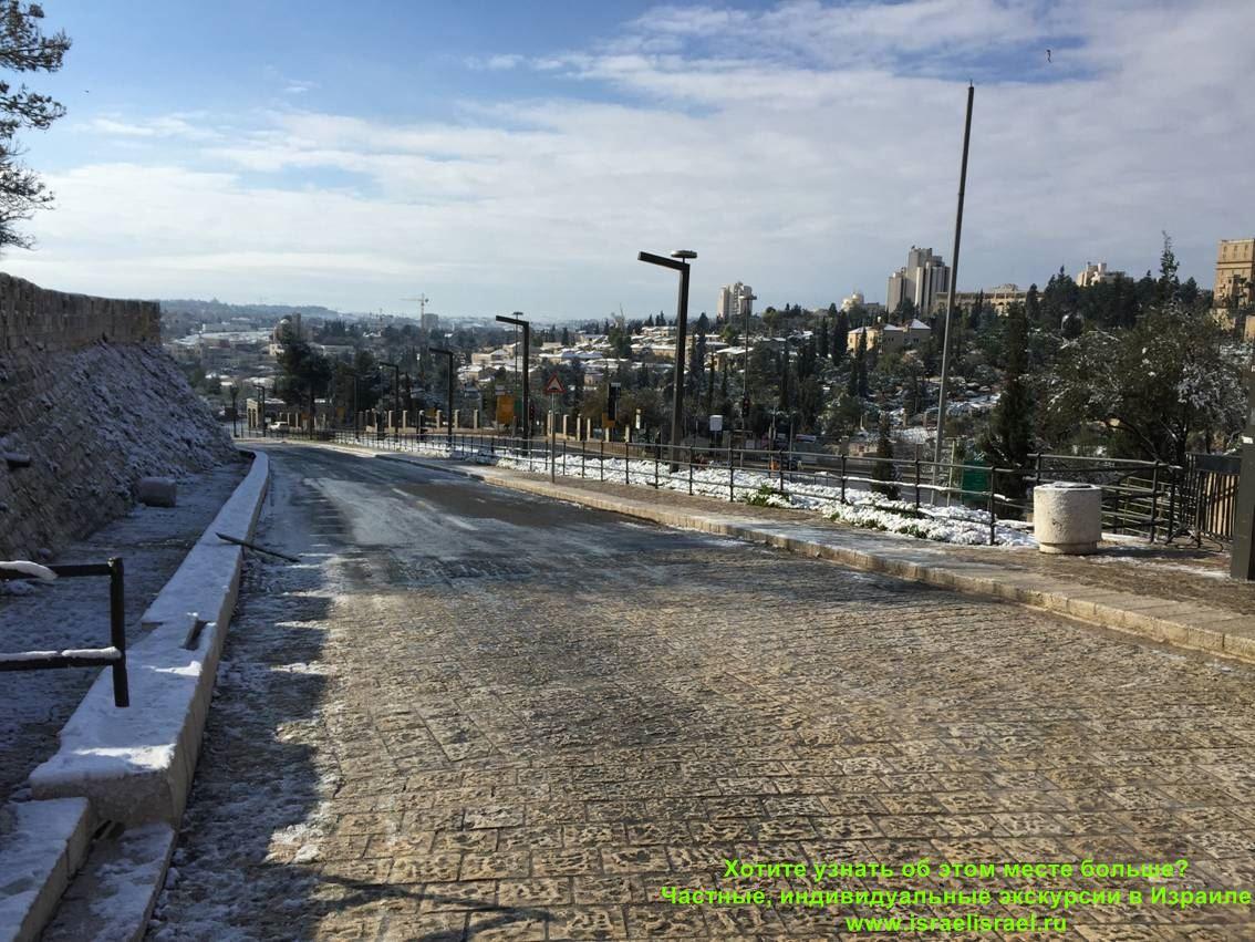какая зима в израиле